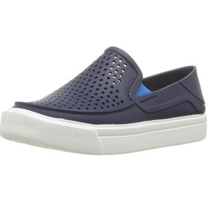 Crocs perforated slip on sneakers